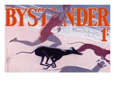 The Bystander Masthead by Laurie Taylor, 1930--Giclee Print