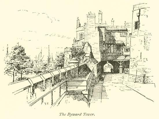 The Byward Tower--Giclee Print