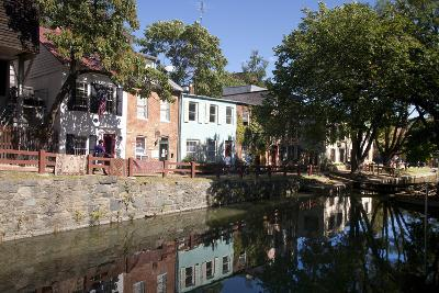 The C&O Canal Towpath in Georgetown, District of Columbia-Skip Brown-Photographic Print