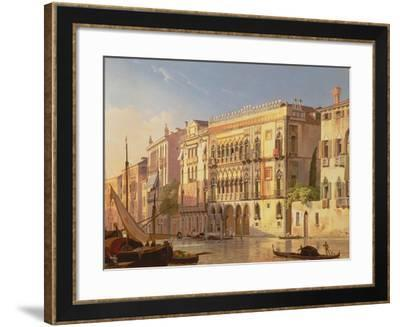 The Ca' D'Oro, Venice-Friedrich Nerly-Framed Giclee Print