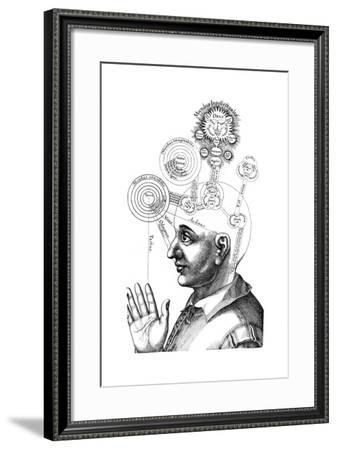 The Cabalistic Analysis of the Mind and the Senses, 1617--Framed Giclee Print