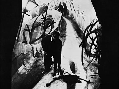The Cabinet of Dr. Caligari, 1920--Photographic Print