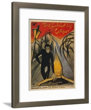 The Cabinet of Dr. Caligari, Italian Movie Poster, 1919