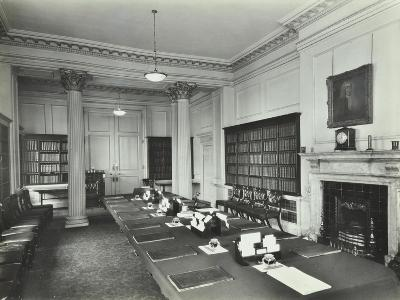 The Cabinet Room at Number 10, Downing Street, London, 1927--Photographic Print