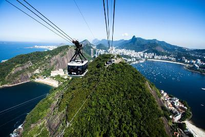 The Cable Car To Sugar Loaf In Rio De Janeiro-Mariusz Prusaczyk-Photographic Print