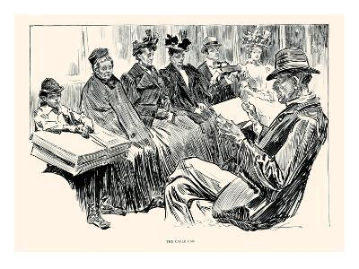 The Cable Car-Charles Dana Gibson-Art Print