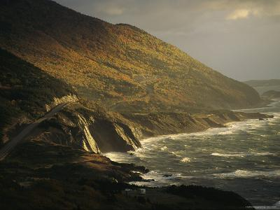 The Cabot Trail Winds its Way Along the Gulf of St. Lawrence-Raymond Gehman-Photographic Print