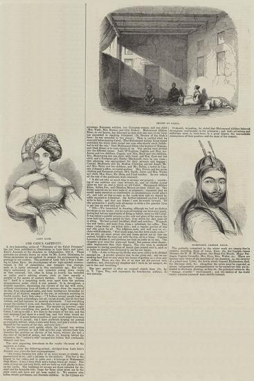 The Cabul Captivity--Giclee Print