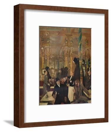 'The Cafe Royal, London', 1912-William Newenham Montague Orpen-Framed Giclee Print