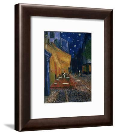 The Café Terrace on the Place du Forum, Arles, at Night, c.1888-Vincent van Gogh-Framed Giclee Print