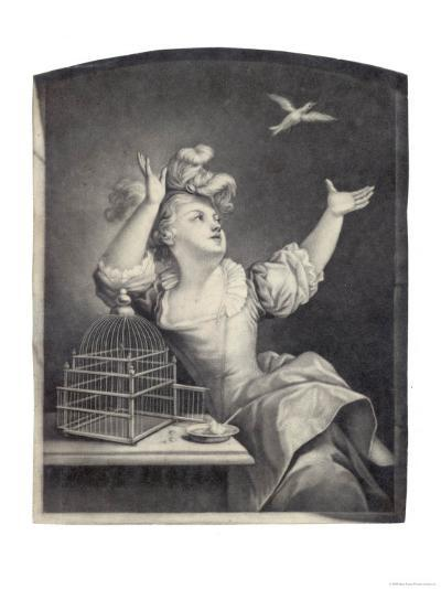 The Cage-Bird Released--Giclee Print