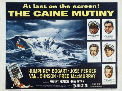 The Caine Mutiny, 1954, Directed by Edward Dmytryk--Giclee Print