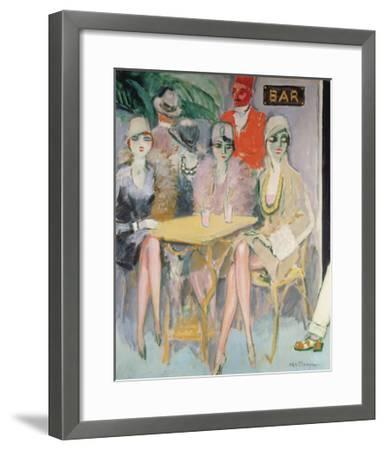 The Cairo Bar, 1920-Kees van Dongen-Framed Premium Giclee Print