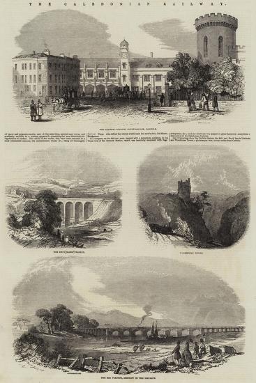 The Caledonian Railway--Giclee Print