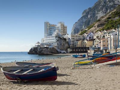 The Caleta Hotel, Catalan Bay, Gibraltar, Europe-Giles Bracher-Photographic Print