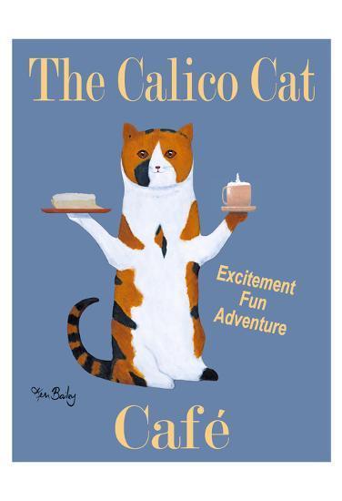 The Calico Cat Café-Ken Bailey-Limited Edition