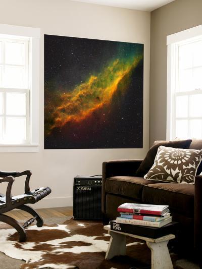 The California Nebula-Stocktrek Images-Wall Mural