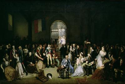 The Call for the Last Victims of the Terror, 7-9 Thermidor, Year 2 (25-27 July 1794), after 1850-Charles Louis Lucien Muller-Giclee Print