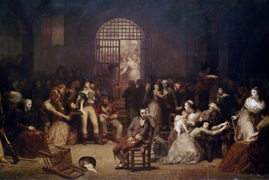 The Call for the Last Victims of the Terror, 7-9 Thermidor, Year 2-Charles Louis Lucien Muller-Giclee Print