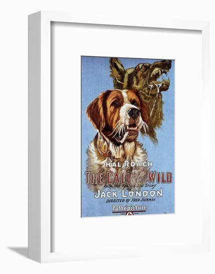 The Call of the Wild De Fredjackman 1923--Framed Art Print