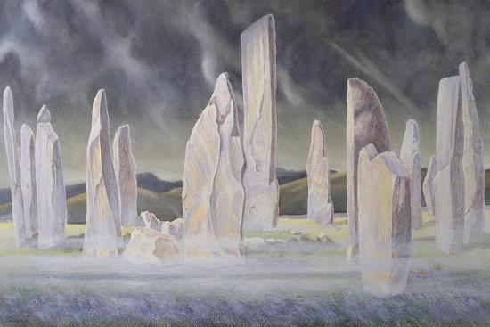 The Callanish Legend, Isle of Lewis, 1991-Evangeline Dickson-Giclee Print