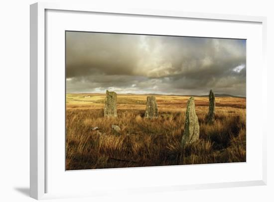 The Callanish Stones, Erected in the Late Neolithic Era-Macduff Everton-Framed Photographic Print