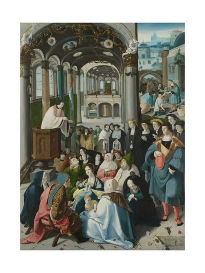 The Calling of Saint Anthony, C.1530-Aertgen Claesz van Leyden-Giclee Print