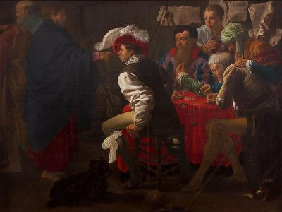 The Calling of Saint Matthew-Hendrick Jansz Terbrugghen-Giclee Print