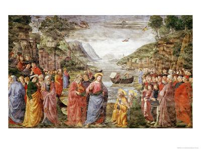 The Calling of Ss. Peter and Andrew, 1481-Domenico Ghirlandaio-Giclee Print