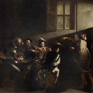 The Calling of St. Matthew by Caravaggio