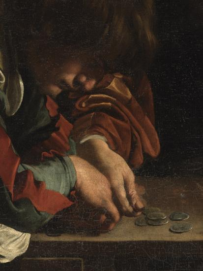 The Calling of St Matthew-Caravaggio-Giclee Print