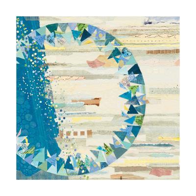 The Calm and The Storm White-Kathy Ferguson-Art Print