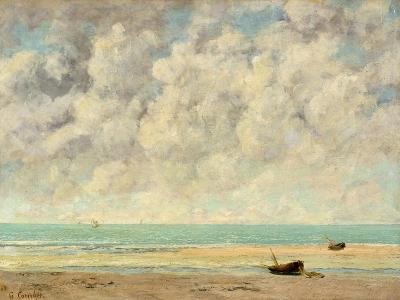 The Calm Sea, 1869-Gustave Courbet-Giclee Print