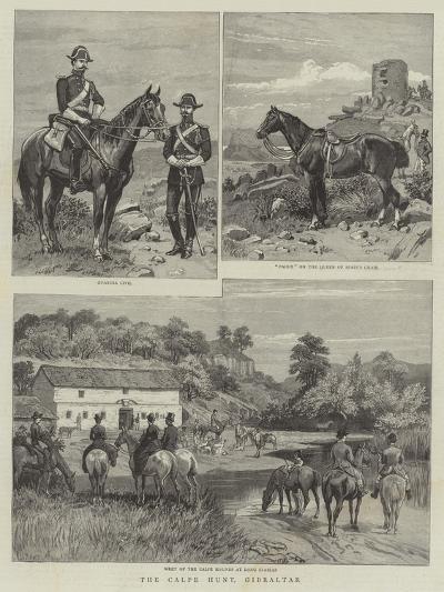 The Calpe Hunt, Gibraltar--Giclee Print