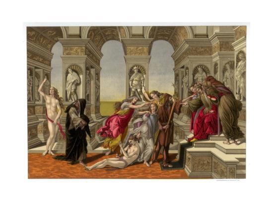 The Calumny of Apelles, 1494-1495-Franz Kellerhoven-Giclee Print