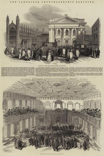 The Cambridge Chancellorship Election--Giclee Print