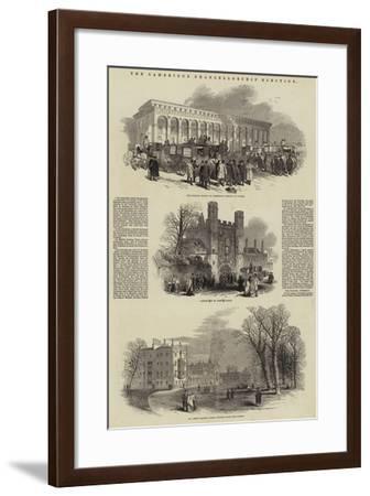 The Cambridge Chancellorship Election--Framed Giclee Print