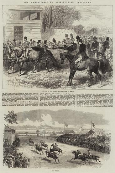 The Cambridgeshire Steeplechase, Cottenham-Arthur Hopkins-Giclee Print