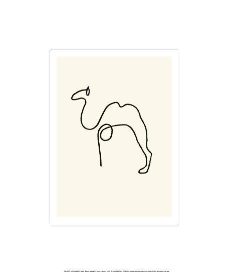 The Camel-Pablo Picasso-Serigraph
