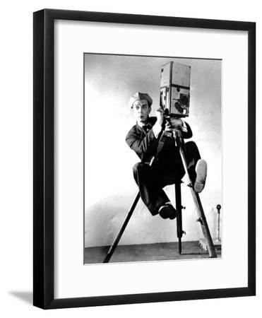 The Cameraman, Buster Keaton, 1928, Newsreel Camera