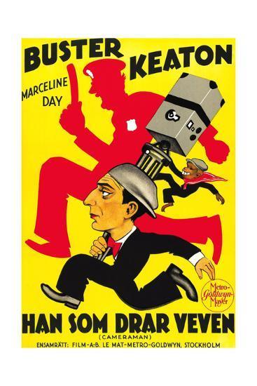 The Cameraman, Buster Keaton, 1928--Giclee Print
