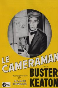 The Cameraman, French Movie Poster, 1928
