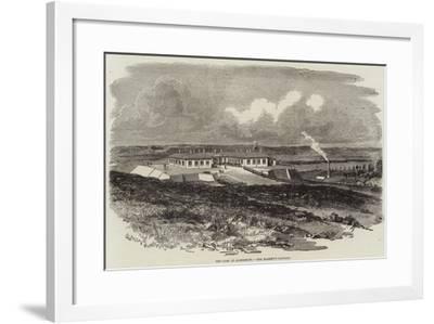 The Camp at Aldershott, Her Majesty's Pavilion--Framed Giclee Print