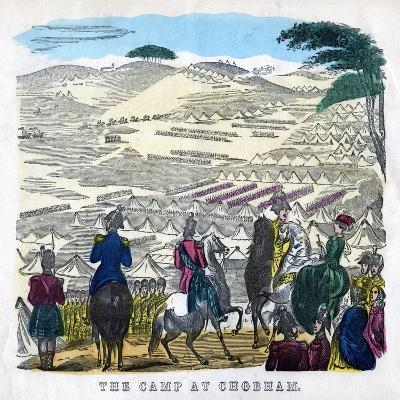The Camp at Chobham, 19th Century--Giclee Print