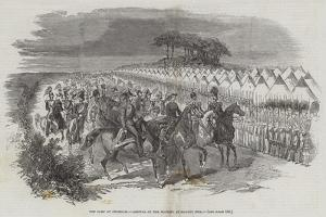 The Camp at Chobham, Arrival of Her Majesty at Magnet Hill