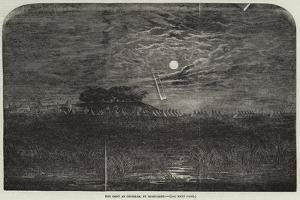 The Camp at Chobham, by Moonlight