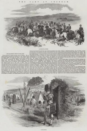 The Camp at Chobham--Giclee Print