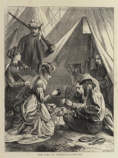 The Camp at Wimbledon, Tea-Time--Giclee Print