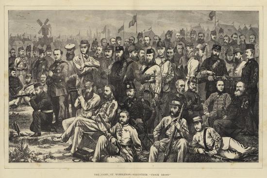 The Camp at Wimbledon, Volunteer Crack Shots--Giclee Print