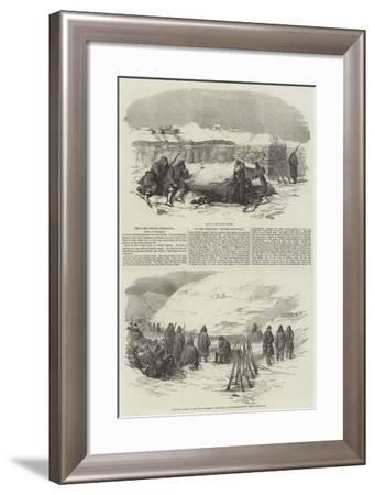 The Camp before Sebastopol--Framed Giclee Print